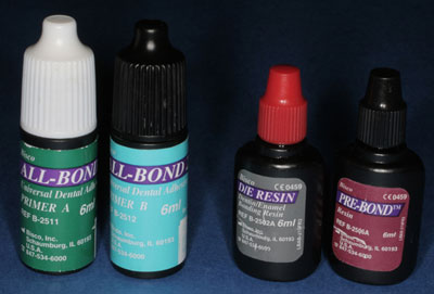 dental bonding agent for porcelain veneers