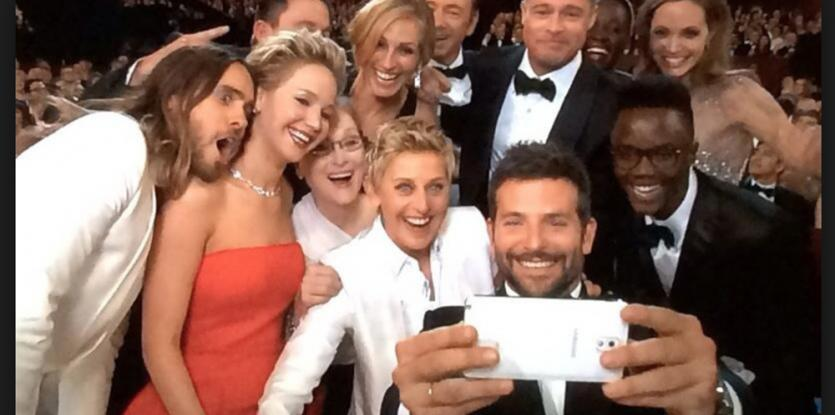 beautiful smiles at The Oscars